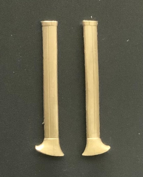 Image of Cessna O-2A Skymaster brass wing support struts (1/48)