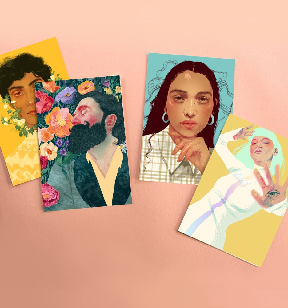 Image of Vibrant Postcard Pack