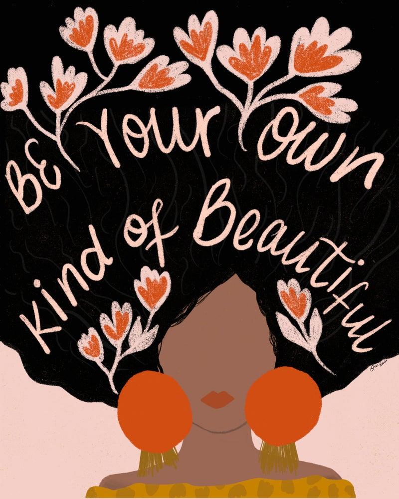 Image of Be Your Own Kind of Beautiful - ABJ x BreatheLiveExplore