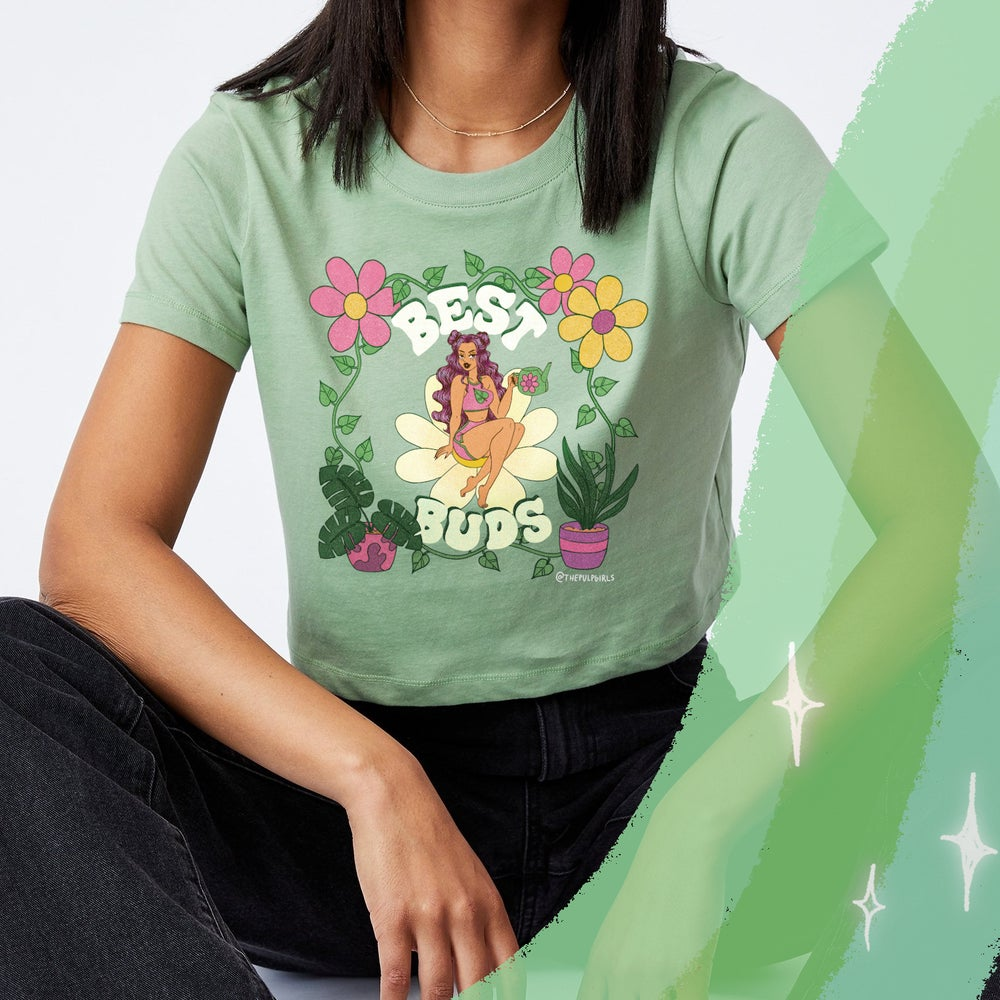 Image of BEST BUDS BABY TEE