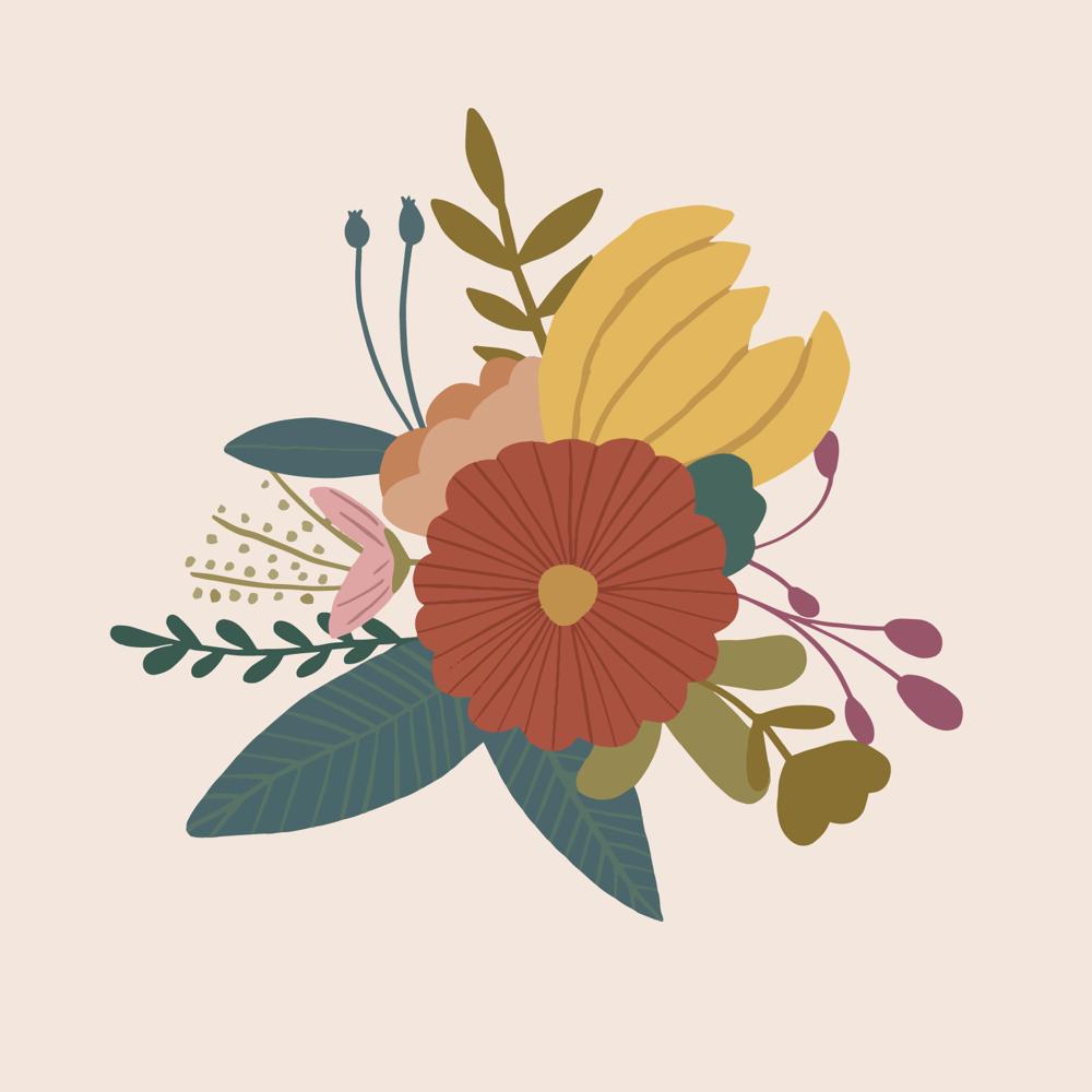 Image of Floral Bouquet no.3 - ABJ x BreatheLiveExplore