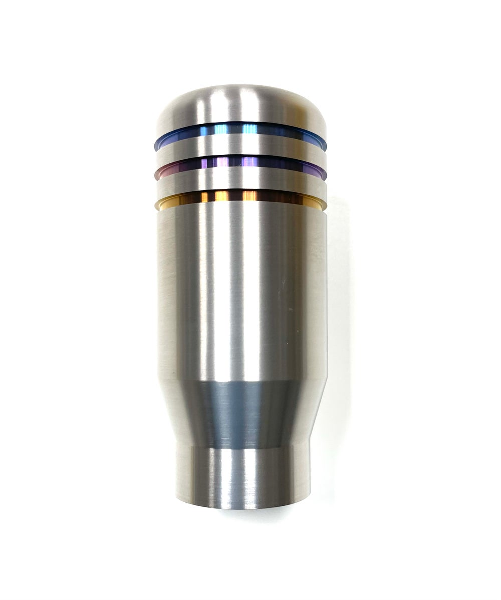 "Chasing Js ""EMPIRE"" Titanium shift knob (Reverse Lockout)"