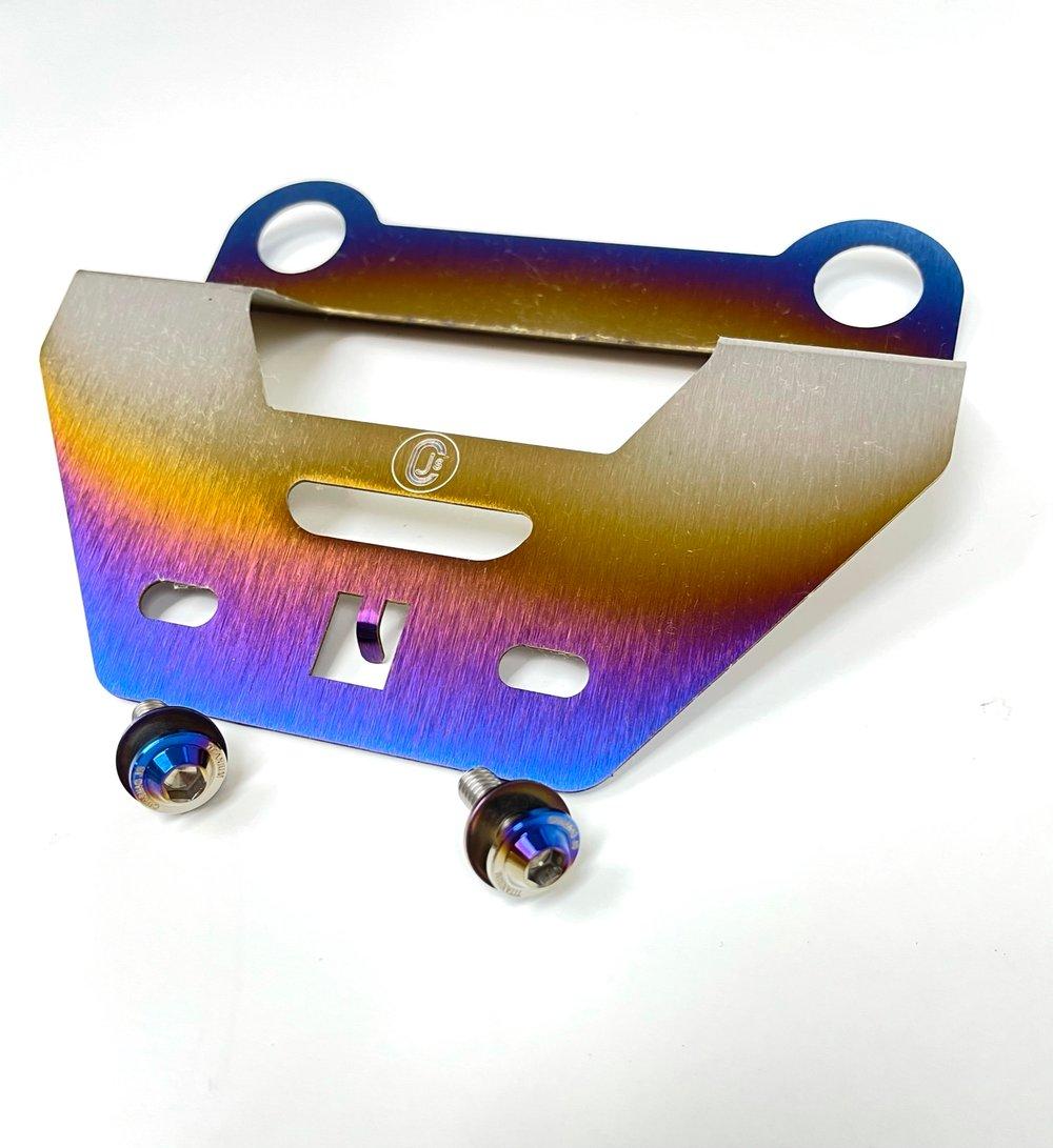 Honda titanium AC brackets