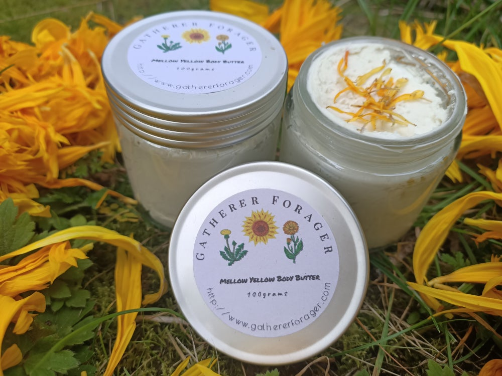 Image of Mellow Yellow Flower infused body butter