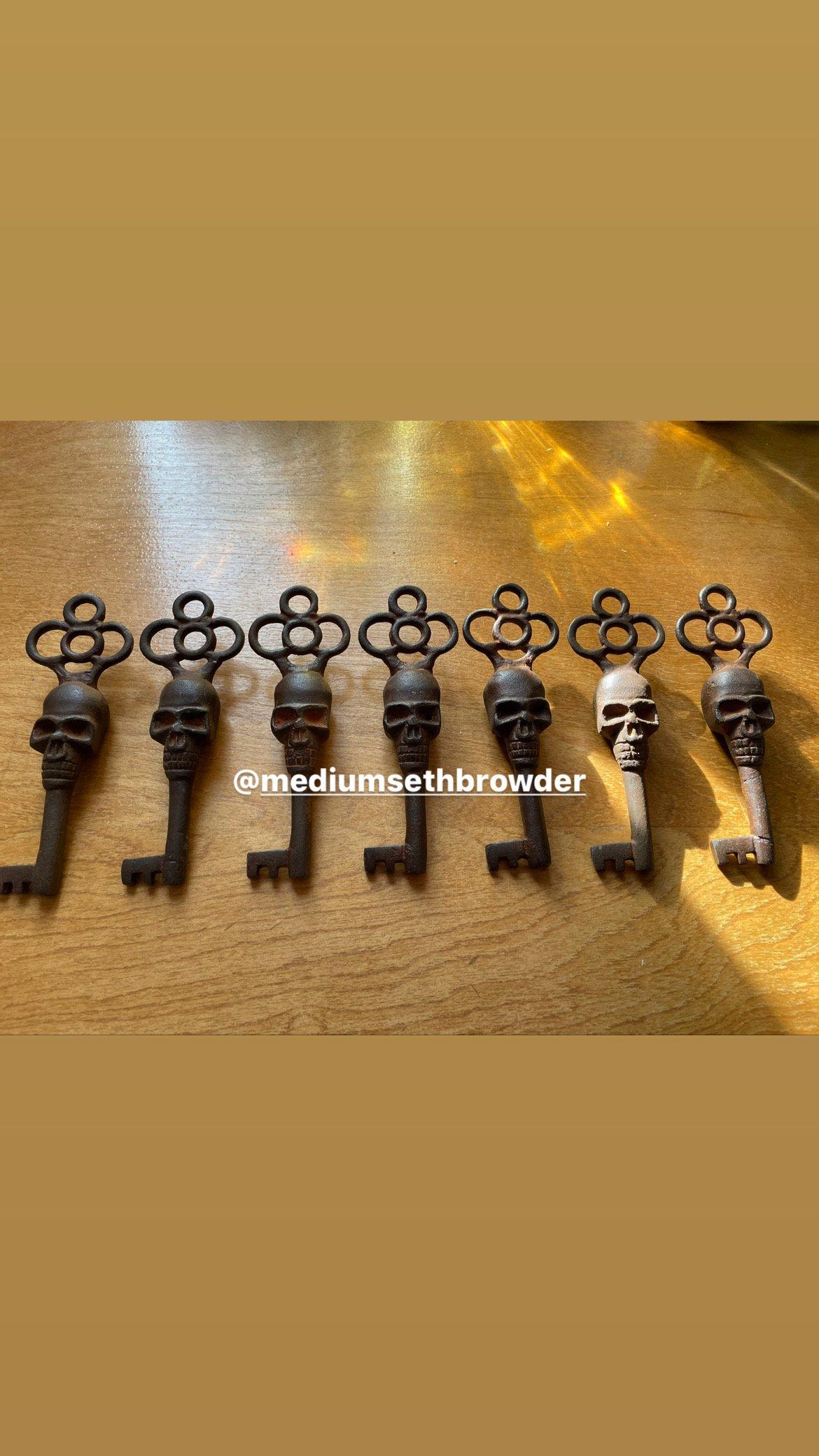 Image of Skull Steel Key