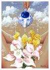 """""""Water me daily 2"""" Print (DP389)p"""