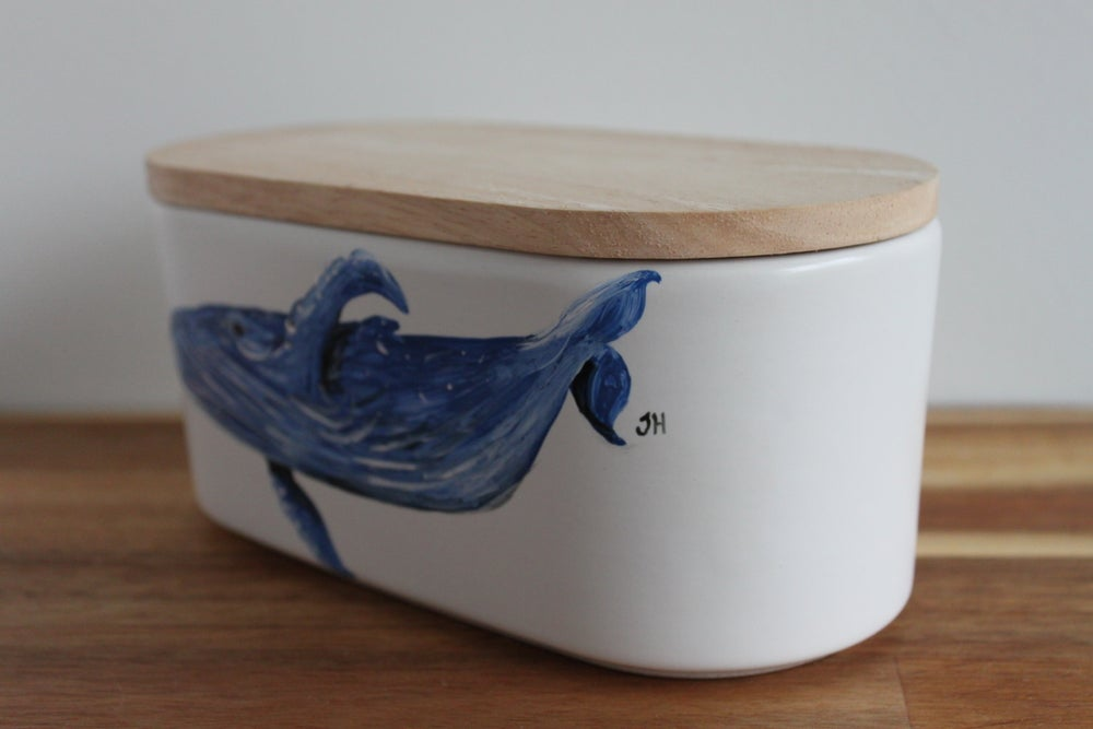 Humpback Whale Canister