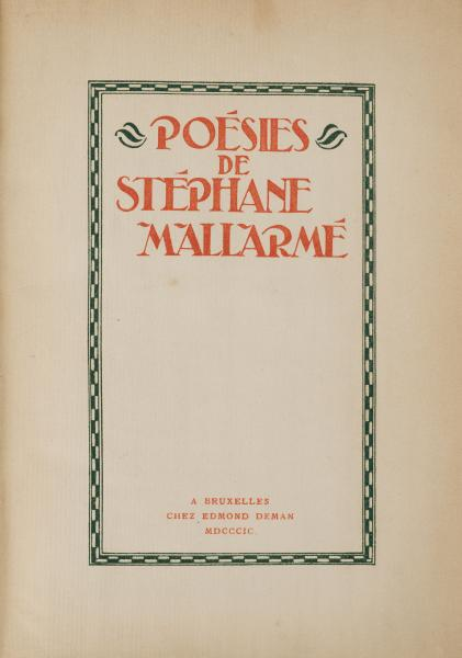 Image of MALLARMÉ