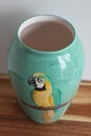 Image 2 of Macaw Vase