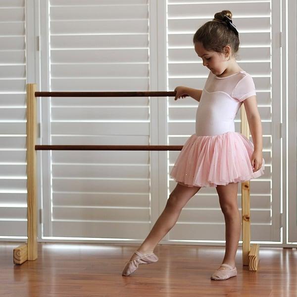 Image of Wooden Ballet Barre
