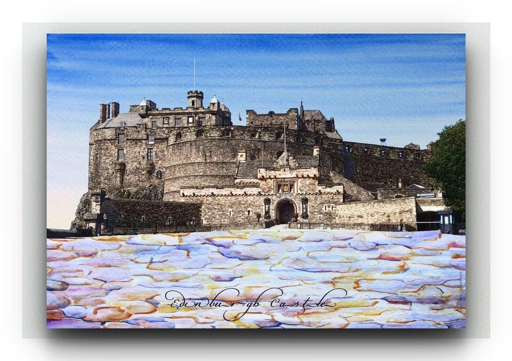 Ross Fountain / Edinburgh Castle - Bonnie Prints