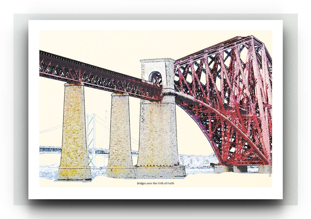 Forth Rail Bridge - Bonnie Prints