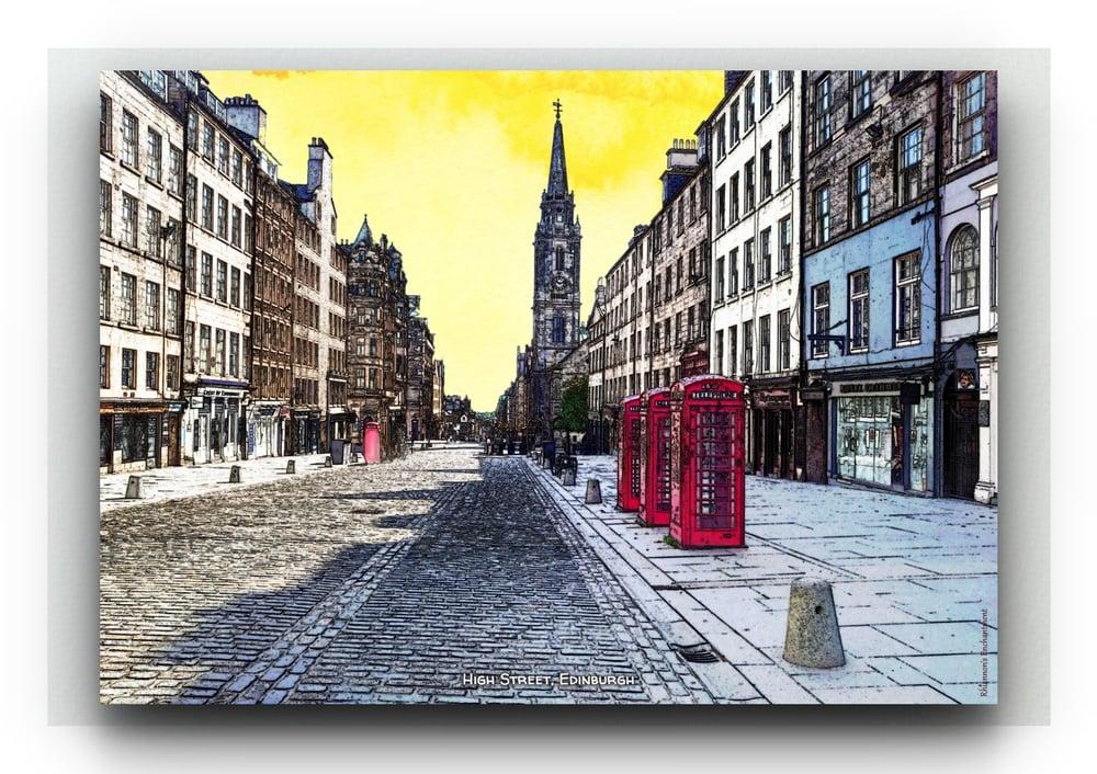 Along the Royal Mile - Bonnie Prints