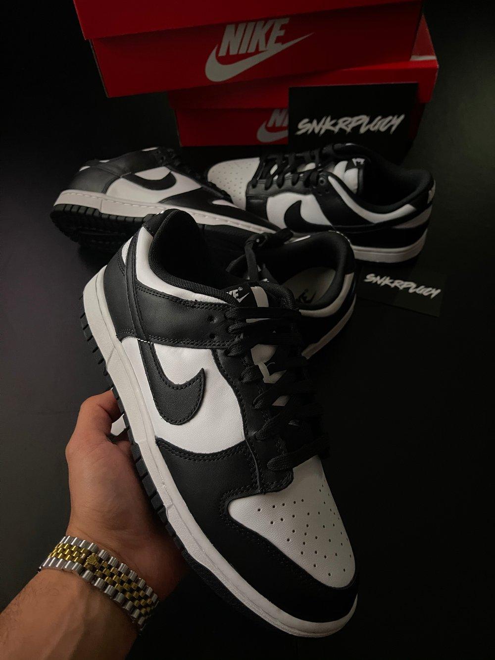 "Nike Dunk Low ""Black/White"""