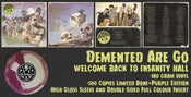 Image of LP. Demented Are Go : Welcome Back To Insanity Hall.  Coloured swirl vinyl.