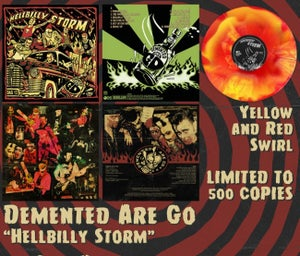 Image of LP. Demented Are Go : Hellbilly Storm.   Ltd Edition.