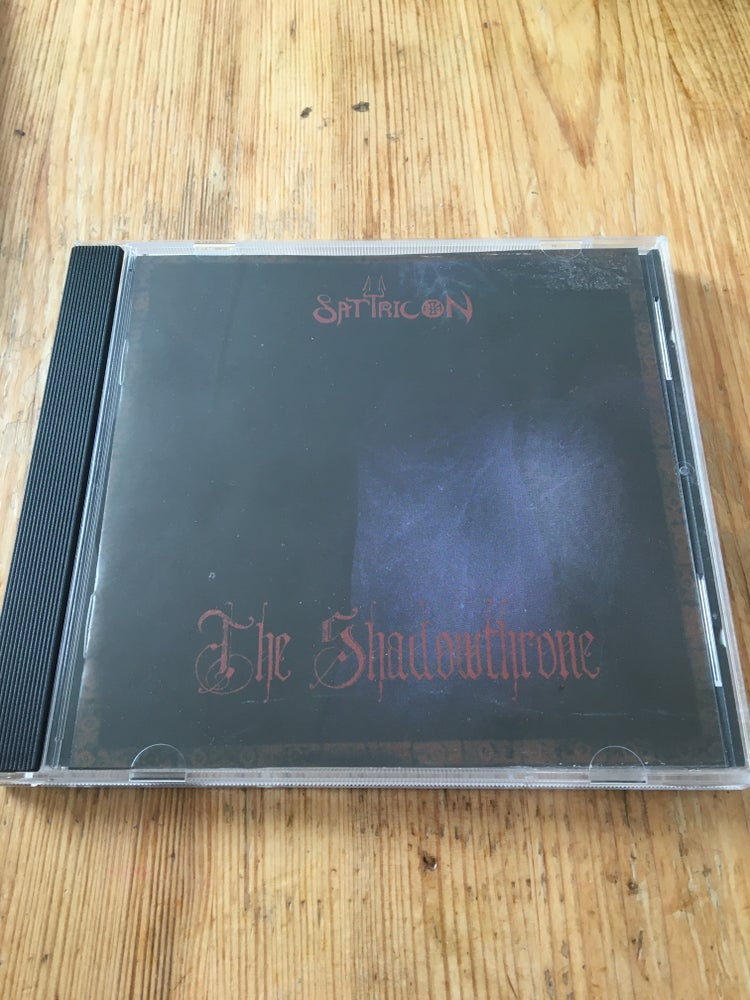 Image of Satyricon 2nd press cd signed