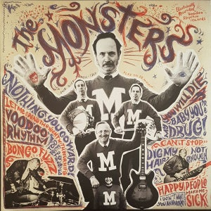 Image of LP+CD. The Monsters : 'M'.     LP + CD + Poster.