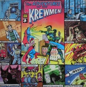 Image of LP. The Krewmen : The Adventures of.     + Poster.