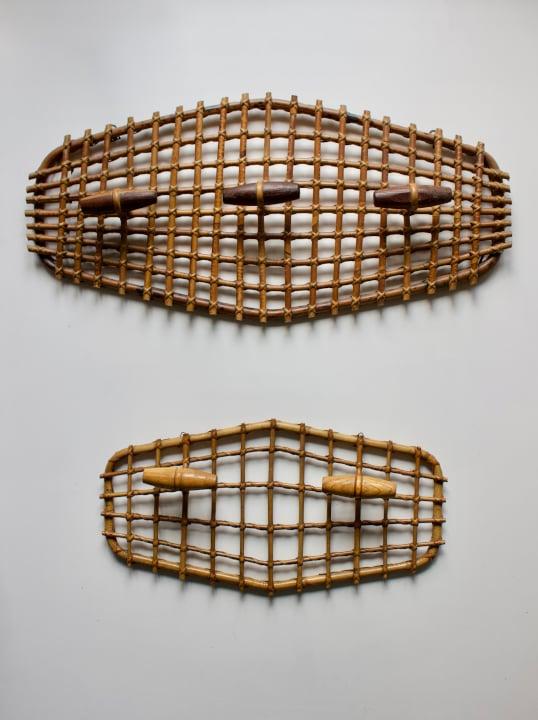 Image of Bamboo Coat Racks, Mid-20th Century Italy