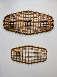 Image of Bamboo Coat Racks, Mid-20th Century Italy
