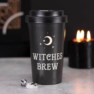 Image of Witches Brew Bamboo Travel Mug
