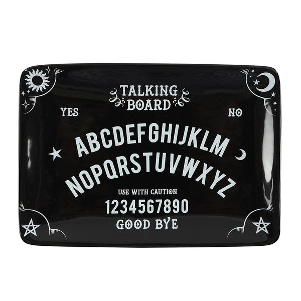 Image of Black Talking Board Trinket Tray