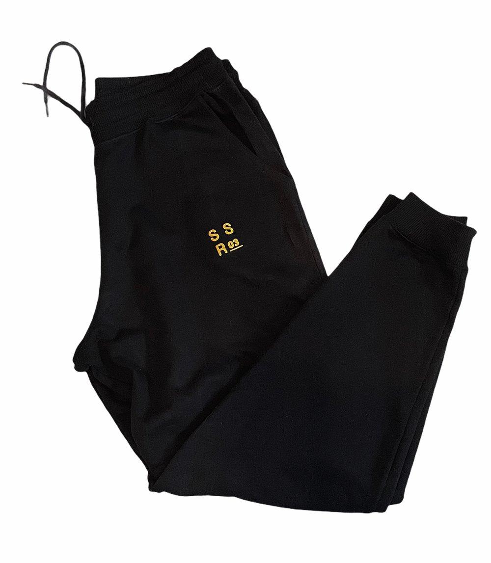 SSR03: Black Relax Sweatpants