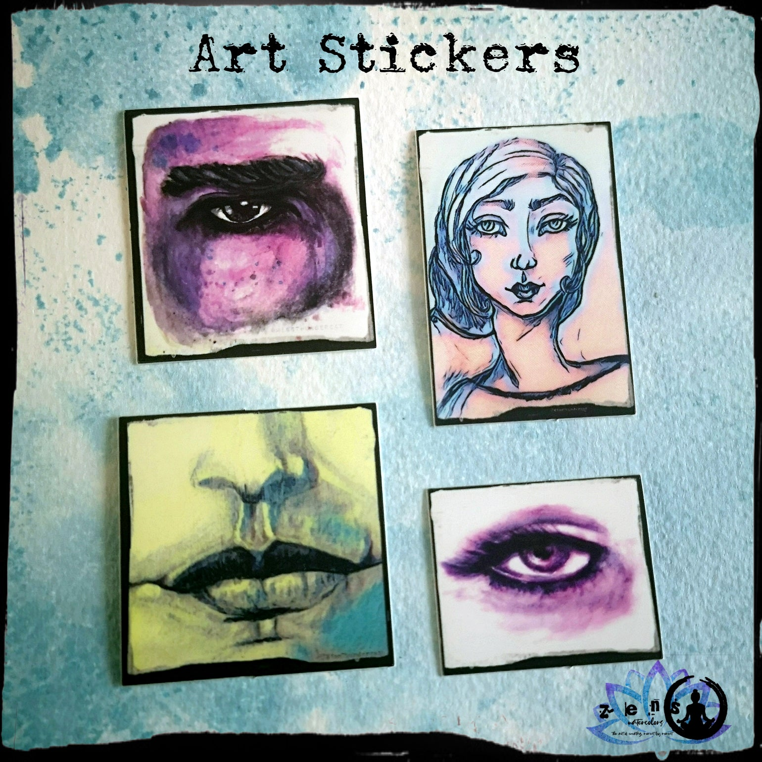 Image of NEW Art Stickers