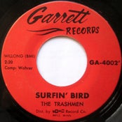"Image of 7"". The Trashmen : Surfin' Bird."