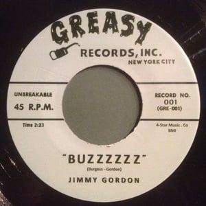 "Image of Split 7"".  Jimmy Gordon : Buzzzzz / The Carnations : Scorpion"