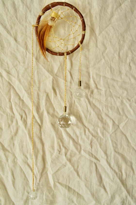 Image of Rainbow Prism Dreamcatcher- Sienna II