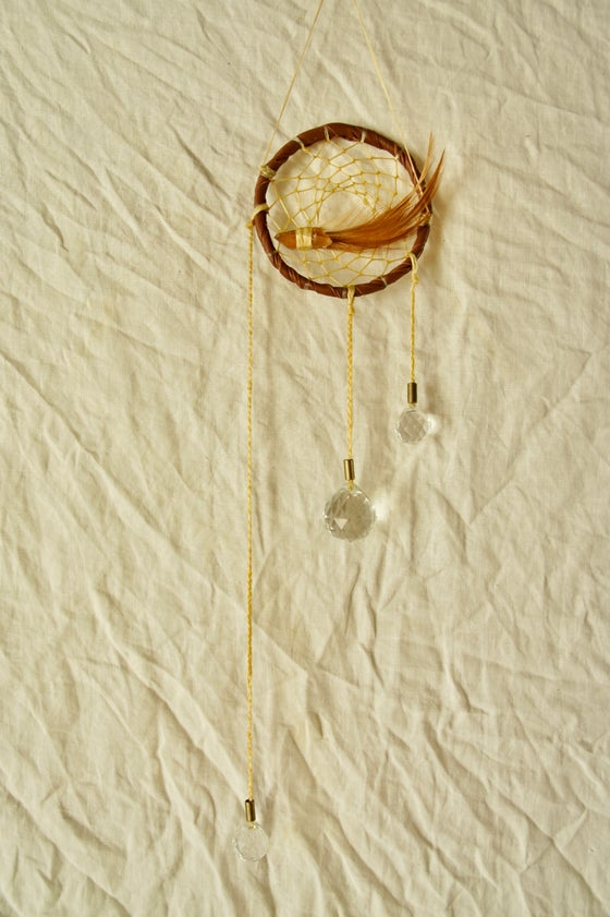 Image of Rainbow Prism Dreamcatcher- Sienna IV