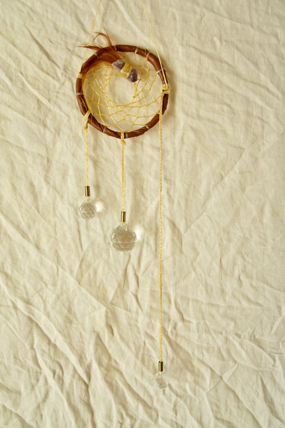 Image of Rainbow Prism Dreamcatcher- Sienna