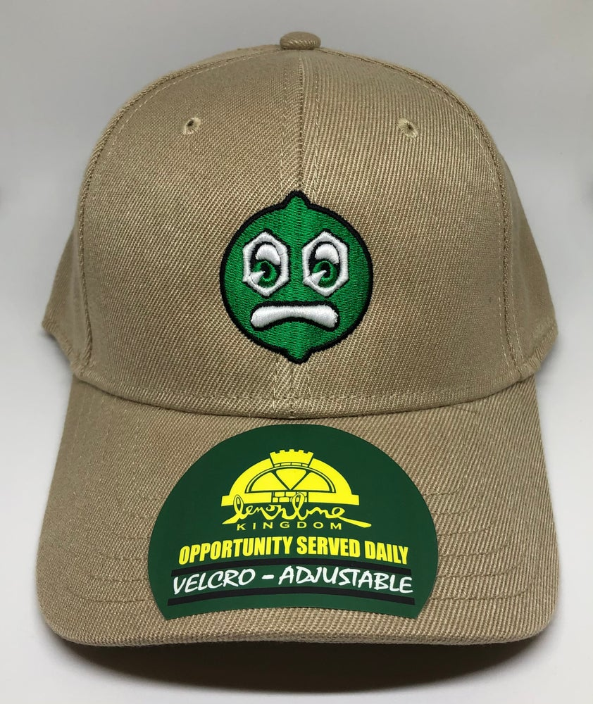 Image of Sublime Velcro Khaki Adjustable Hat
