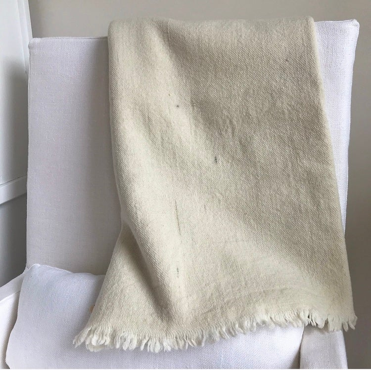 Image of Hand Spun %100 Wool Throw