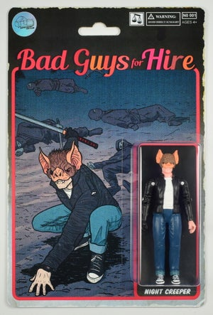 Image of Bad Guys for Hire - Night Creeper