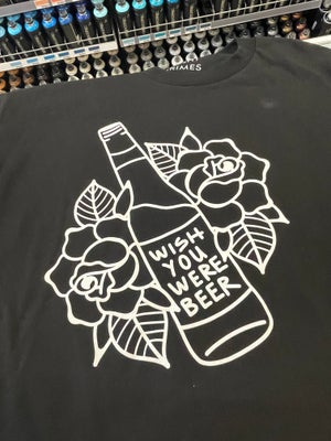 "Night Crimes ""Wish You Were Beer"" Tee Shirt"