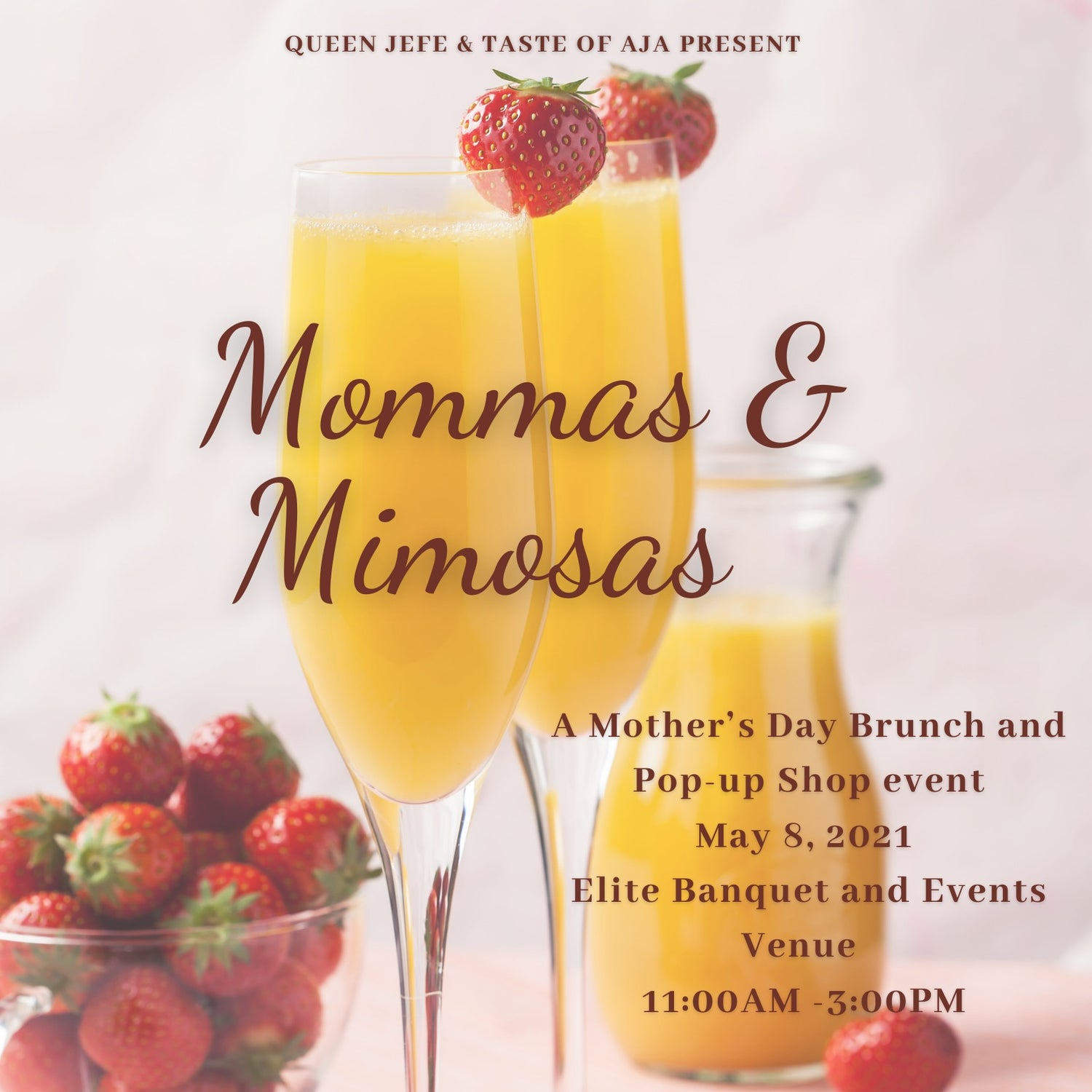 Image of Mommas & Mimosas: Paired Seating