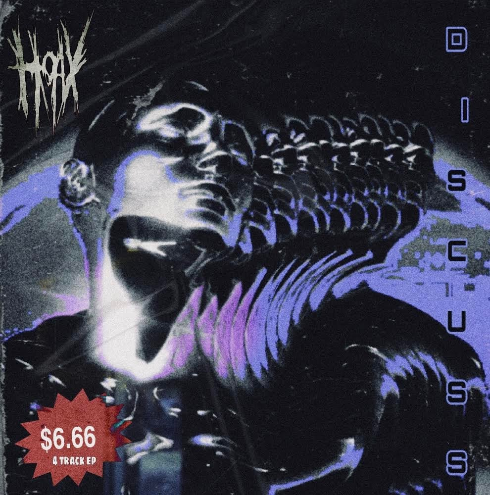 """Image of HOAX - """"DISCUSS"""" EP"""