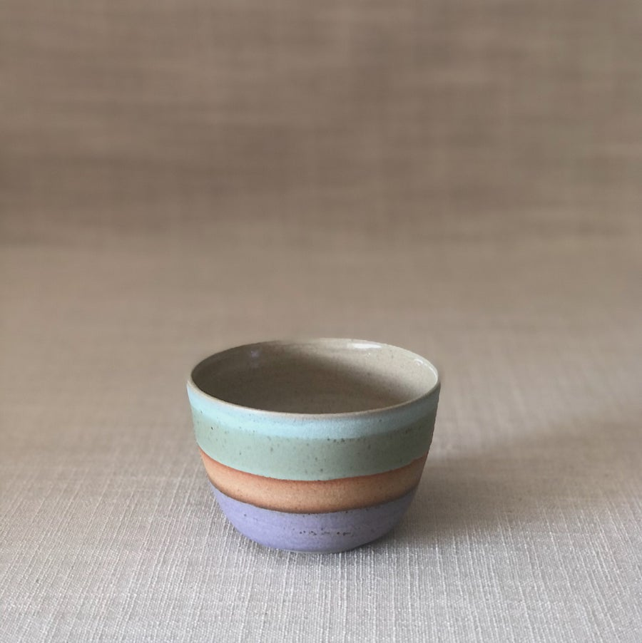 Image of DUSK PURPLE/GREEN ICE CREAM BOWL