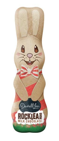 Image of Darrell Lea Rocklea Road Easter Bunny (170g)
