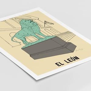 Image of El Leon Print
