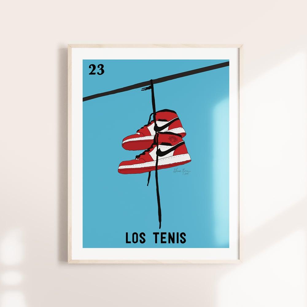 Image of Los Tenis Print