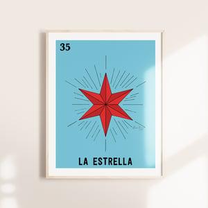 Image of La Estrella Print