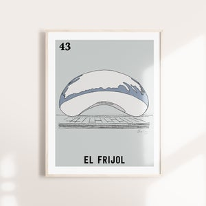 Image of El Frijol Print