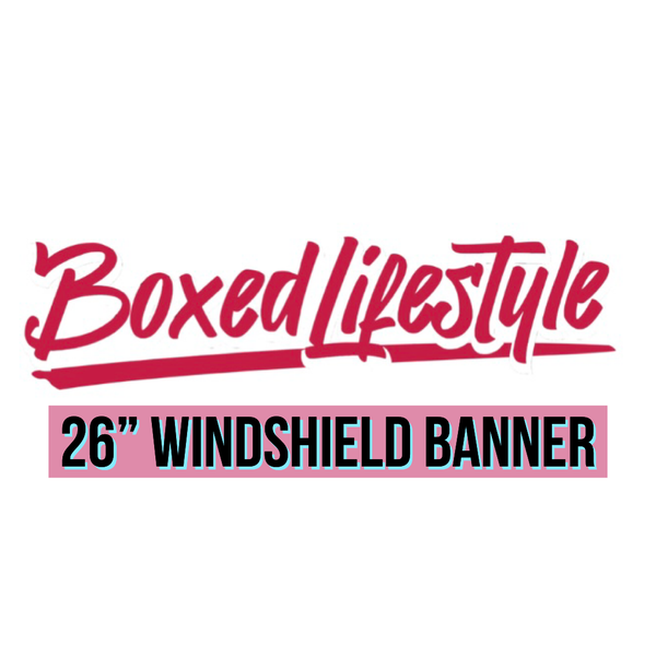 """Image of Banner Combo 26"""" & 10"""""""
