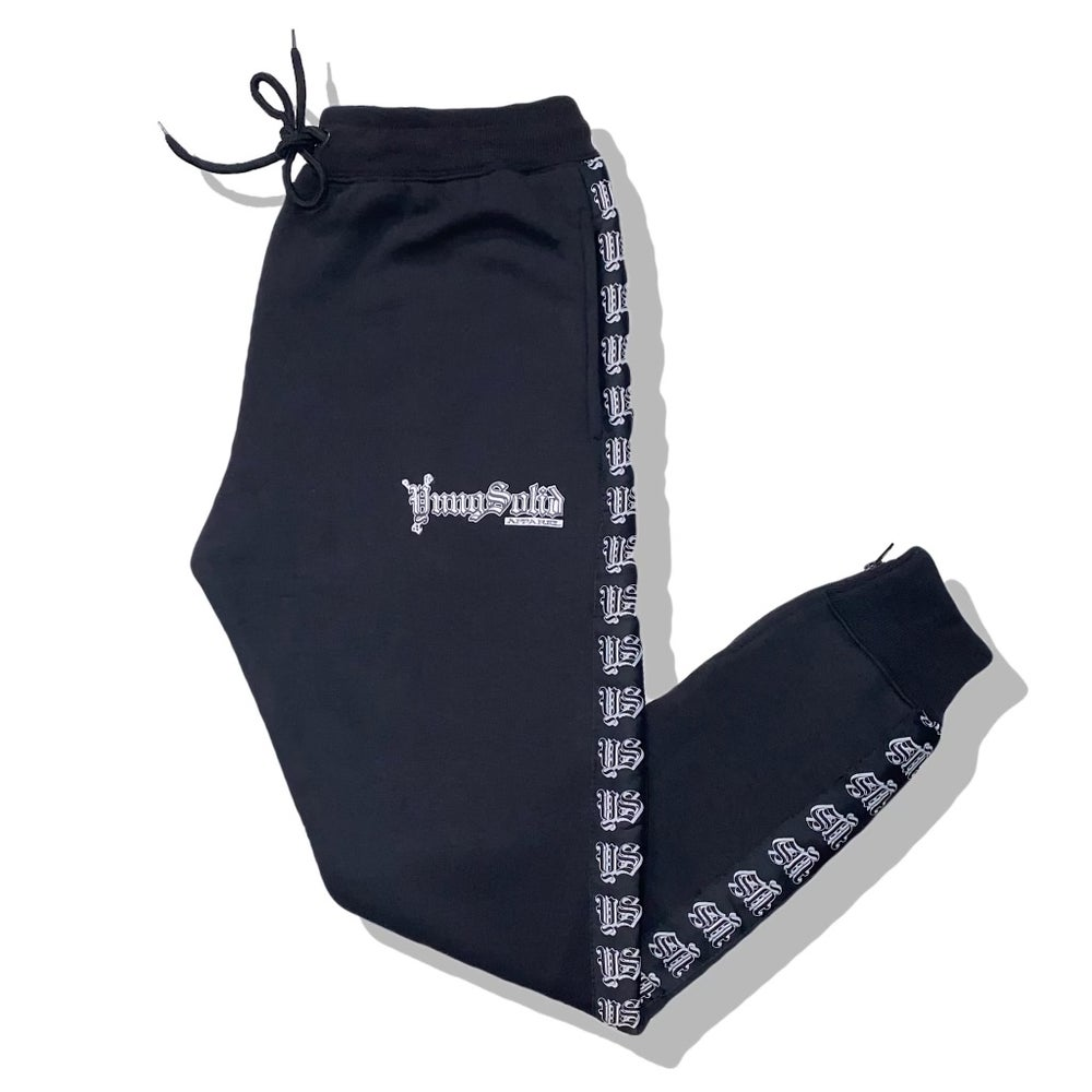 Image of Black YungSolid Tracksuit