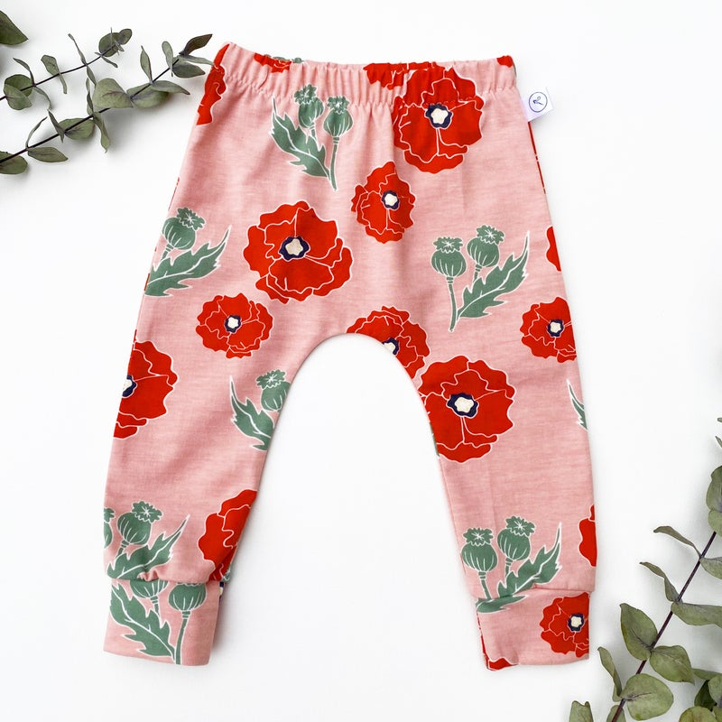 Image of *NEW* Pink Poppy Leggings