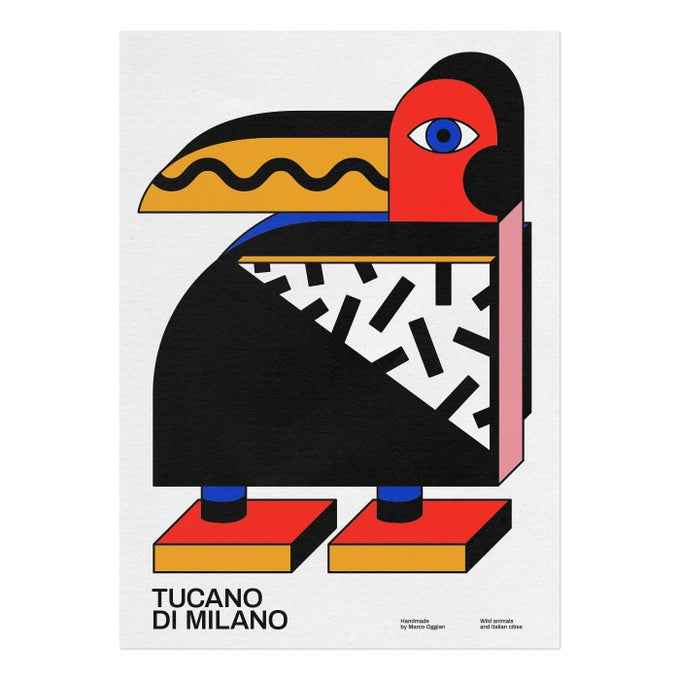 Image of TUCANO DI MILANO Poster by Marco Oggian